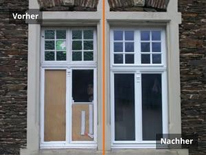 Fenster Vorher/Nachher