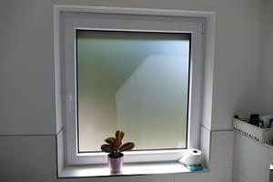 Milchglas Fenster